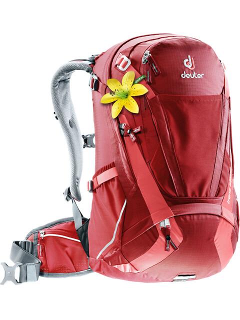 Deuter Trans Alpine 28 SL Backpack Women cranberry-coral